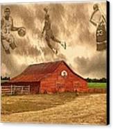 Hoop Dreams Canvas Print by Charles Ott