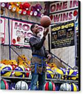 Hoop Shots Canvas Print by Rory Sagner