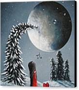 Hope Is On Her Way By Shawna Erback Canvas Print by Shawna Erback