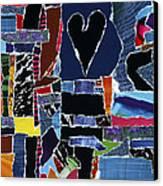 hope U'r still reading Canvas Print by Kenneth James