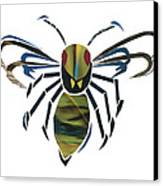 Hornet Canvas Print by Earl ContehMorgan