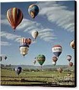 Hot Air Balloon Canvas Print by Jim Steinberg