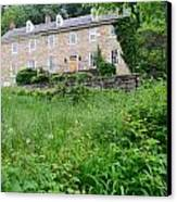 House On A Hill Canvas Print by    Michael Glenn