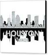Houston Tx 4 Canvas Print by Angelina Vick