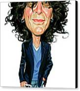 Howard Stern Canvas Print by Art