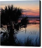 Hunting Isalnd Tidal Marsh Canvas Print by Michael Weeks