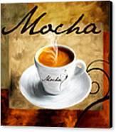 I Like  That Mocha Canvas Print by Lourry Legarde
