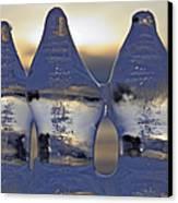 Ice Trio Canvas Print by Sami Tiainen