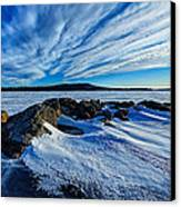 Icebound 7 Canvas Print by Bill Caldwell -        ABeautifulSky Photography