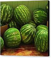 If I Had A Watermelon Canvas Print by Patricia Greer