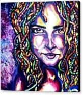 If Looks Could Kill Canvas Print by Shana Rowe Jackson