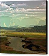 If Only Time Could Sleep Canvas Print by Dieter Carlton