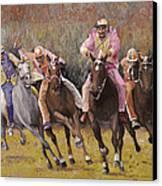 il palio dell'Assunta Canvas Print by Guido Borelli