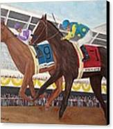 I'll Have Another Wins Preakness Canvas Print by Glenn Stallings