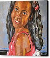 Illyana Canvas Print by Becky Kim