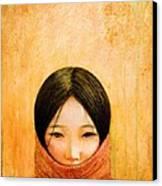 Image Of Tibet Canvas Print by Shijun Munns