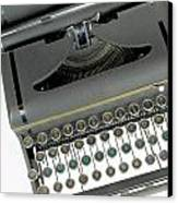 Imagination Typewriter Canvas Print by Rudy Umans