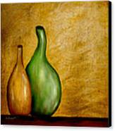 Imperfect Vases Canvas Print by Brenda Bryant