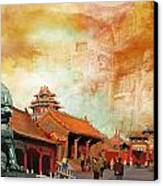 Imperial Palaces Of The Ming And Qing Dynasties In Beijing And Shenyang Canvas Print by Catf