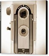 Imperial Reflex Camera Canvas Print by Mike McGlothlen