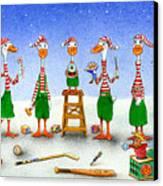 Improving Your Elf Esteem... Canvas Print by Will Bullas