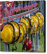 In Memory Of 19 Brave Firefighters  Canvas Print by Rene Triay Photography
