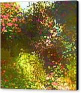 In The Garden Canvas Print by Pamela Cooper