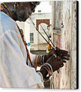 Incense For Marie Laveau Canvas Print by Kathleen K Parker