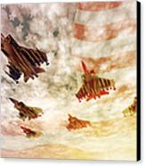 Independence Day Canvas Print by Carol and Mike Werner