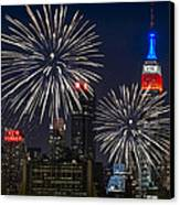 Independence Day Canvas Print by Eduard Moldoveanu
