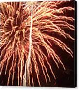Independence Day Sparklers 2 Canvas Print by Deborah Smolinske