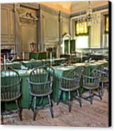 Independence Hall Canvas Print by Olivier Le Queinec