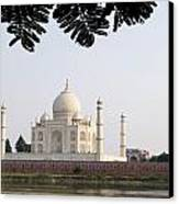 India, Temple Burial Site Seen Canvas Print by Bill Bachmann