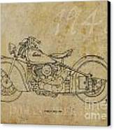 Indian Chief 1948 Canvas Print by Pablo Franchi