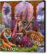 Indian Harmony Canvas Print by Jan Patrik Krasny