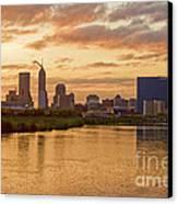 Indianapolis Sunrise Canvas Print by David Haskett