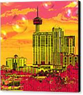 Inner City - Day Dreams Canvas Print by Wendy J St Christopher