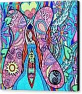 Inner Goddess Canvas Print by Kim Larocque
