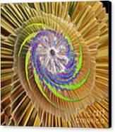Inner Twister Canvas Print by Deborah Benoit