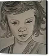 Innocence Canvas Print by Nandini  Thirumalasetty