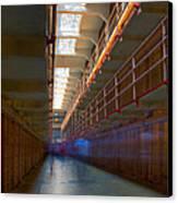 Inside Alcatraz Canvas Print by James O Thompson
