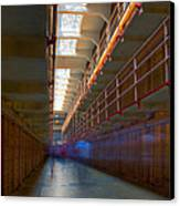 Inside Alcatraz Canvas Print by James O Thompson