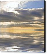 Inspiration Reflection Canvas Print by Matthew Gibson