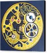 Internal Mechanisms Canvas Print by Nina Shilling