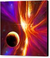 Intersteller Supernova Canvas Print by James Christopher Hill