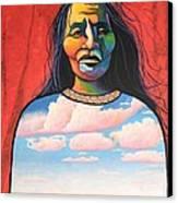 Into Her Spirit Canvas Print by Joe  Triano