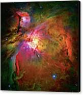 Into The Orion Nebula Canvas Print by The  Vault - Jennifer Rondinelli Reilly
