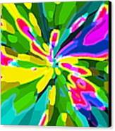 Iphone Cases Colorful Flowers Abstract Roses Gardenias Tiger Lily Florals Carole Spandau Cbs Art 181 Canvas Print by Carole Spandau