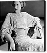 Irene Hervey, 1933 Canvas Print by Everett
