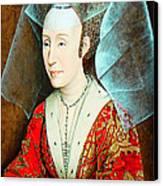 Isabella Of Portugal 1397-1471 Canvas Print by Li   van Saathoff